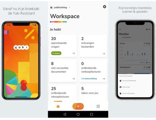 Nieuwe app voor ondernemers: de Yuki Assistant